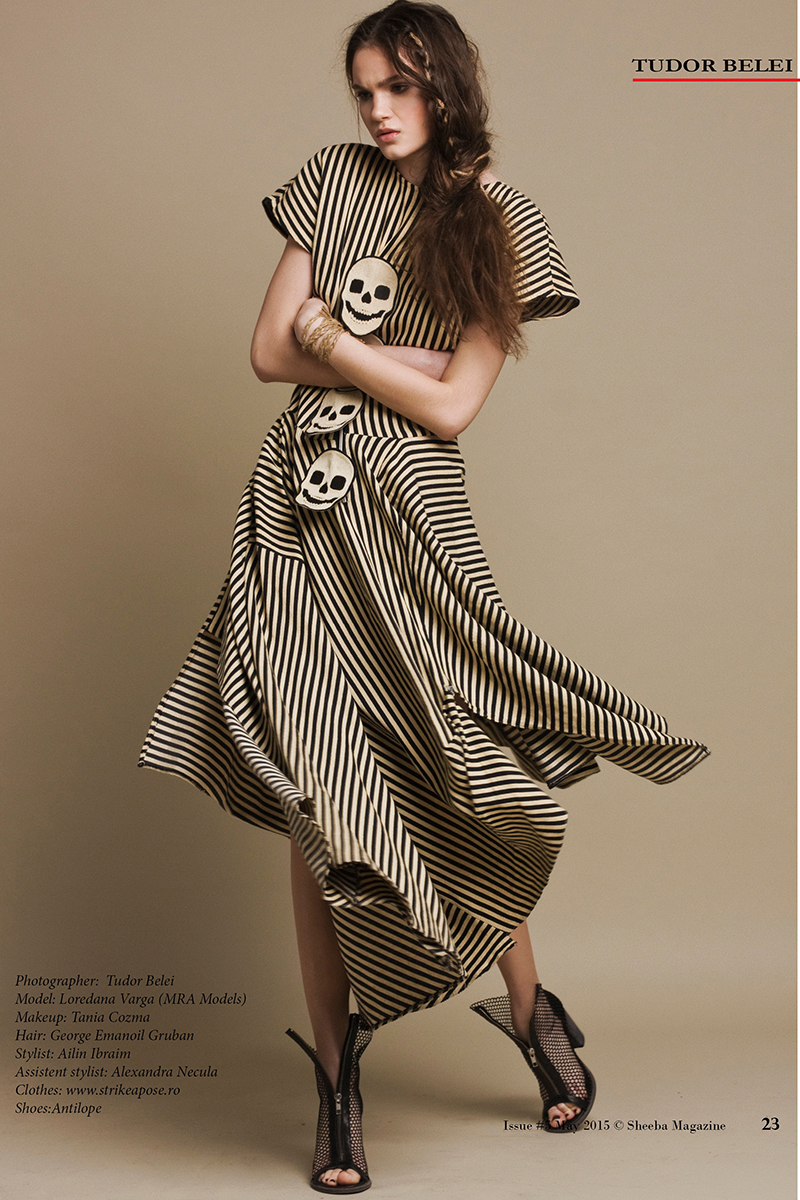 Tudor Belei Loredana Varga MRA Models Tania Cozma Sheeba Magazine Fashion Editorial