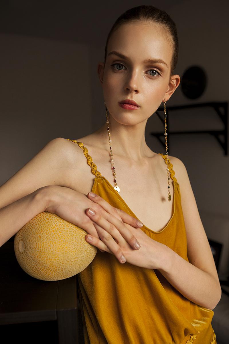 Tudor Belei Ugne Kirvelaite Lamu Slenis Magazine Fashion Editorial Summer Romance 1