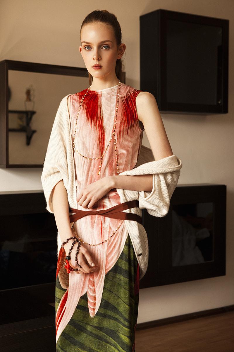 Tudor Belei Ugne Kirvelaite RUTA Models Lamu Slenis Magazine Fashion Editorial Summer Romance